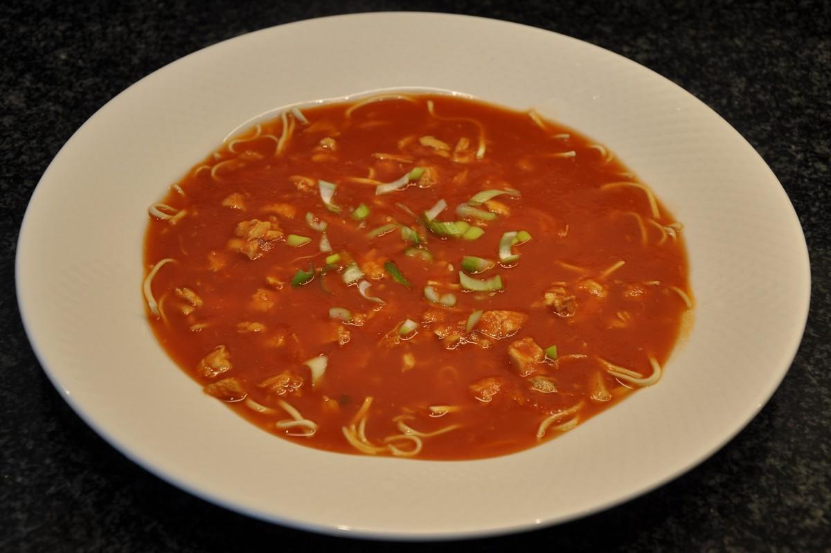recept chinese tomatensoep met verse tomaten
